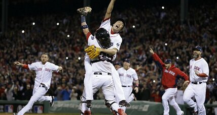 Red Sox win ALCS, face Cardinals in World Series