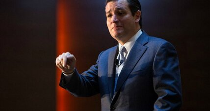 In Iowa's presidential testing ground, Ted Cruz echoes – who else? – Ronald Reagan