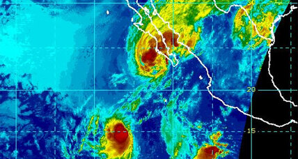 Tropical storm Octave approaches Baja California: Arriving tomorrow?