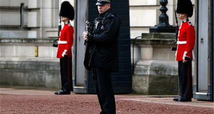 Queen Elizabeth II was away when armed, mentally ill man charged queen's palace