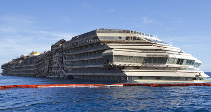 Salvaging the Costa Concordia: why an engineer's dream is a daunting task