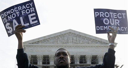 Campaign finance limits sharply divide Supreme Court. Is there middle ground? (+video)