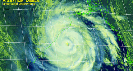 Cyclone Phailin, a monster storm, hammers India