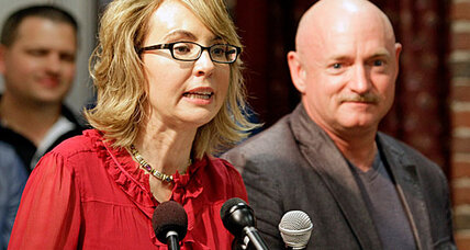 Gabby Giffords: Why will she attend NY gun show? (+video)