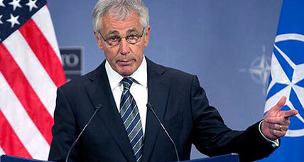 Hagel blasts 9 states for obstructing same-sex military benefits