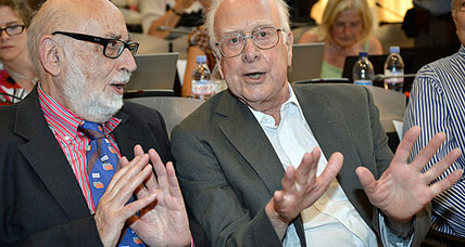 Higgs boson discovery lands 2013 Nobel Prize for two physicists