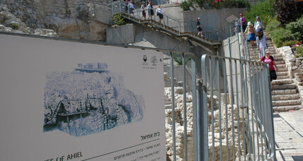 In Jerusalem, the politics of digging up the past