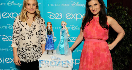 Kristen Bell stars in the Disney movie 'Frozen' – check out the new trailer