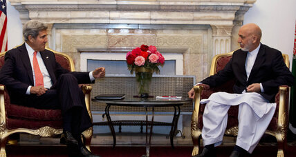 Sec. Kerry travels to Kabul to meet with Karzai