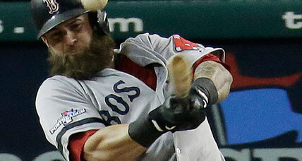 Red Sox rely on Mike Napoli's bat in ALCS