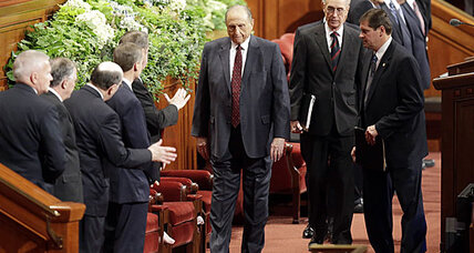 Mormon church boosts missionaries and membership