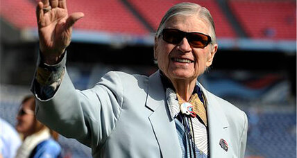 Bud Adams dies: Titans owner Bud Adams stayed with his team over 60 years