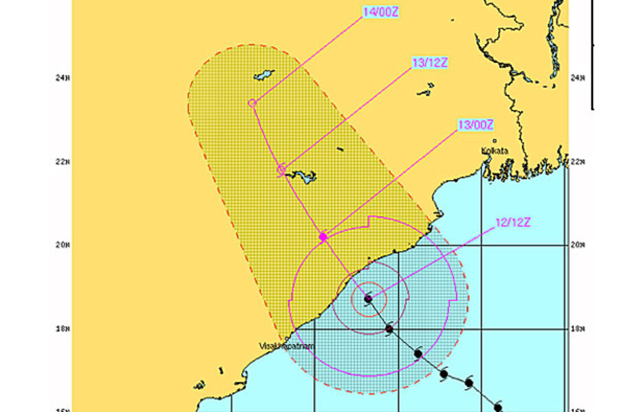 Cyclone Phailin: Did India learn the lessons of 1999? - CSMonitor.com