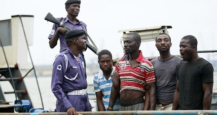 US merchant seamen captured off Nigeria: the newest threat in piracy