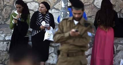 Jerusalem life: 'Are you aware? Women should not be strolling outdoors'