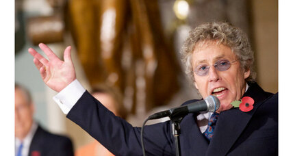 Roger Daltrey performs in DC to honor Winston Churchill