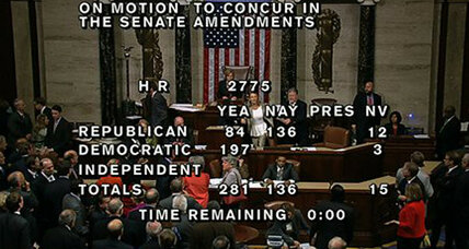 Stenographer unleashes surprising outburst on the floor of Congress
