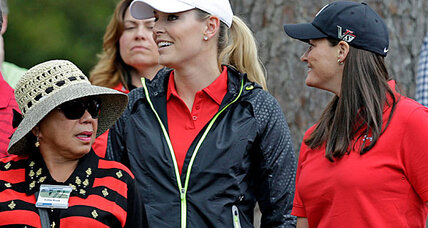 Lindsey Vonn back on the slopes, prepping for Sochi Olympics