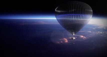 For $75,000, a balloon ride to the mid-stratosphere