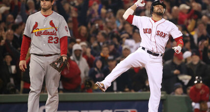 Red Sox and Cardinals: World Series tango part of two-city sports serial (+video)