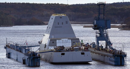 Navy new destroyer: USS Zumwalt is bigger, badder than any other destroyer (+video)