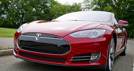 Apple co-founder buys a Tesla Motors Model S
