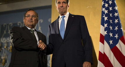 In Egypt, Kerry talks democracy, reaffirms friendship