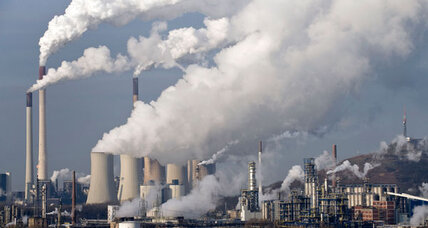Good news on global warming? Emissions going up, but more slowly.