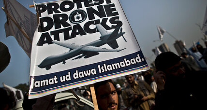 Pakistan says US drone strikes won't stop Taliban talks