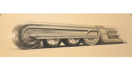 Raymond Loewy's art deco designs streamlined the future