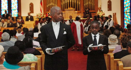 Tithing, church giving dips; sign of the economy or value of charity?