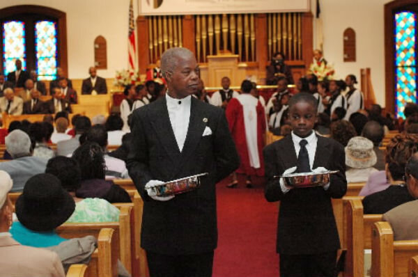 Tithing church giving dips sign of the economy or value