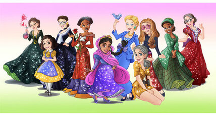 Disney Princess versions of real heroines expose culture of absurdity
