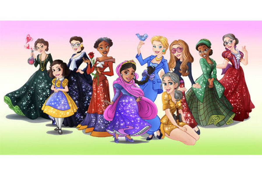 Disney Princess versions of real heroines expose culture of