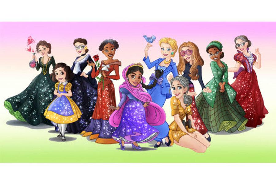Disney Princess Versions Of Real Heroines Expose Culture Of