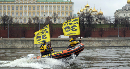 Netherlands demand release of Greenpeace activists as Russia boycotts tribunal