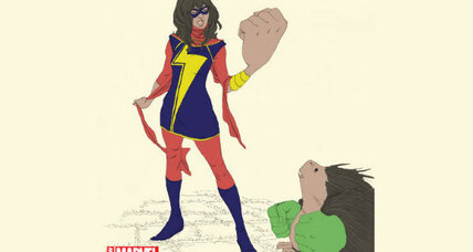 Ms. Marvel: Muslim girl super hero's an early mom's Thanksgiving