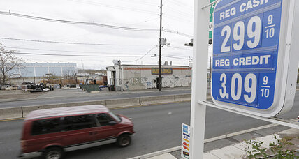 For US motorists, it's Christmas in November. Gas prices hit 33-month low.