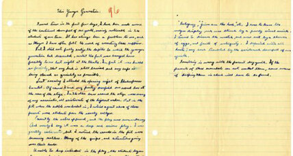 Is this the end of cursive writing? - CSMonitor.com