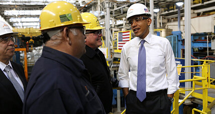 Eager to change subject, Obama touts healthy energy progress