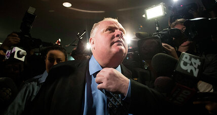 Toronto's Rob Ford, stripped of mayor powers, turns to TV for solace