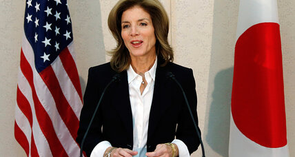 Ambassador Caroline Kennedy lands in Japan. Could the timing be more perfect?