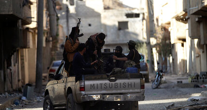 Syrian rebels' competition for limited money and weapons turns brutal