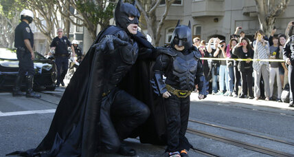 San Francisco, or Gotham City, pulls together for Batkid