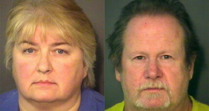 Foster parents accused of cuffing child to porch