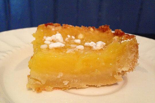 10 picnic ideas for the fourth of july lemon orange bars for Food bar orange