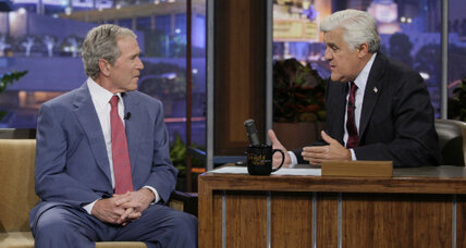 George W. Bush on Leno: 3 things we learned from 'Tonight Show' appearance