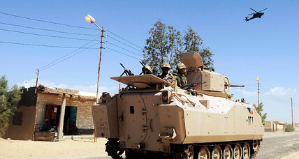 Sinai car bomb underscores Egyptian army's tenuous grasp on security