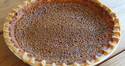 Thanksgiving recipe: Sorghum buttermilk pie