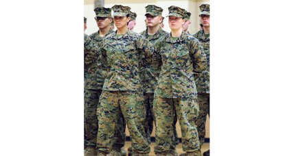 First female Marines pass infantry training – but no combat yet